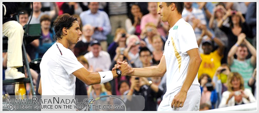 Nadal vs Rosol - Wimbledon