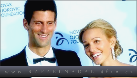 Novak Djokovic and Jelena Ristic are marrieage