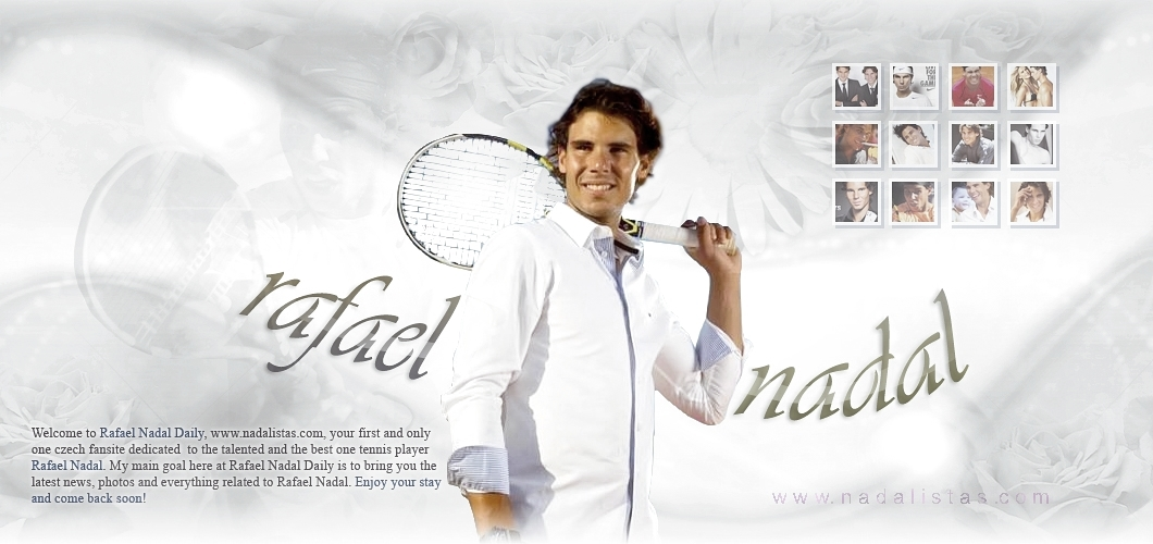 Rafael Nadal cz | Czech fansite about tennis player Rafael Nadal
